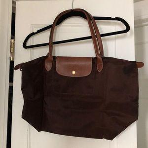 Brown Longchamp Bag Sz Medium Lightly Used